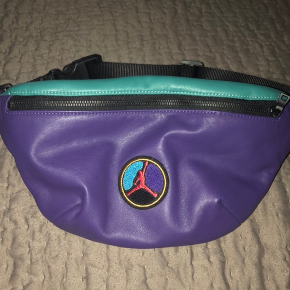 Air Jordan just don leather fanny pack waist bag 54eb59f40354a